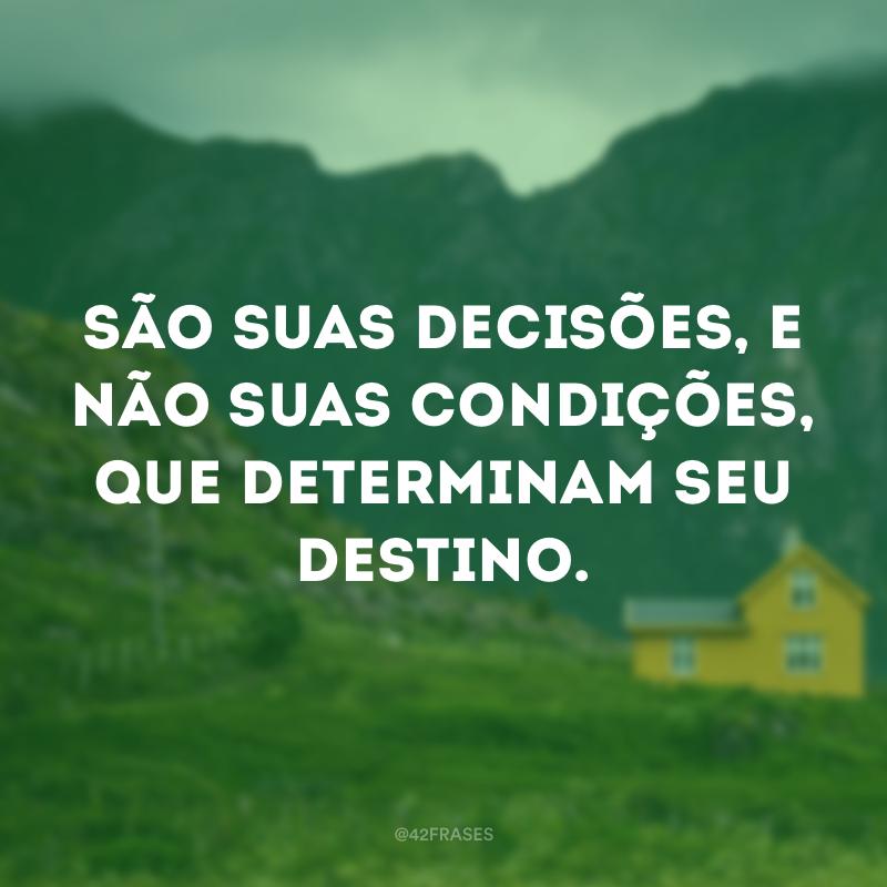 Decisões e Destino