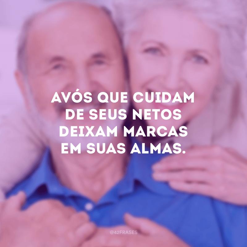 Avós que cuidam de seus netos deixam marcas em suas almas.